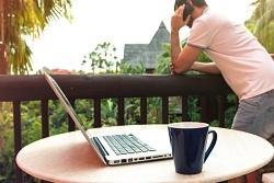 balkonhängetisch laptop